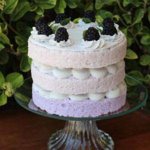 3 LAYER BLACKBERRY CAKE 317