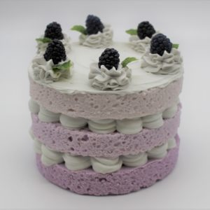 3 Layer Blackberry Cake