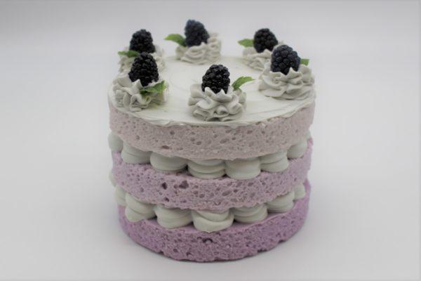 3 Layer Blackberry Cake