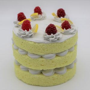 3 Layer Lemon Cake