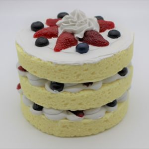 3 Layer Vanilla Cake