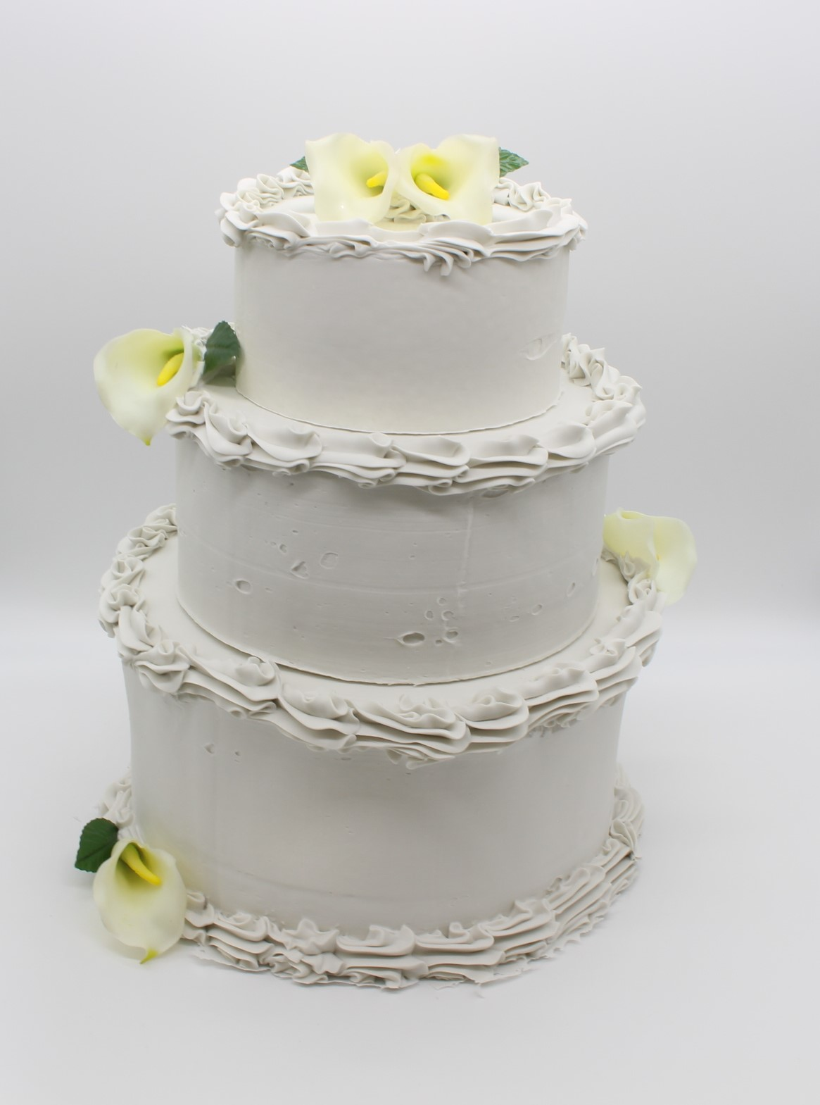 Fake 3 Tier Wedding Cake Just Dough It