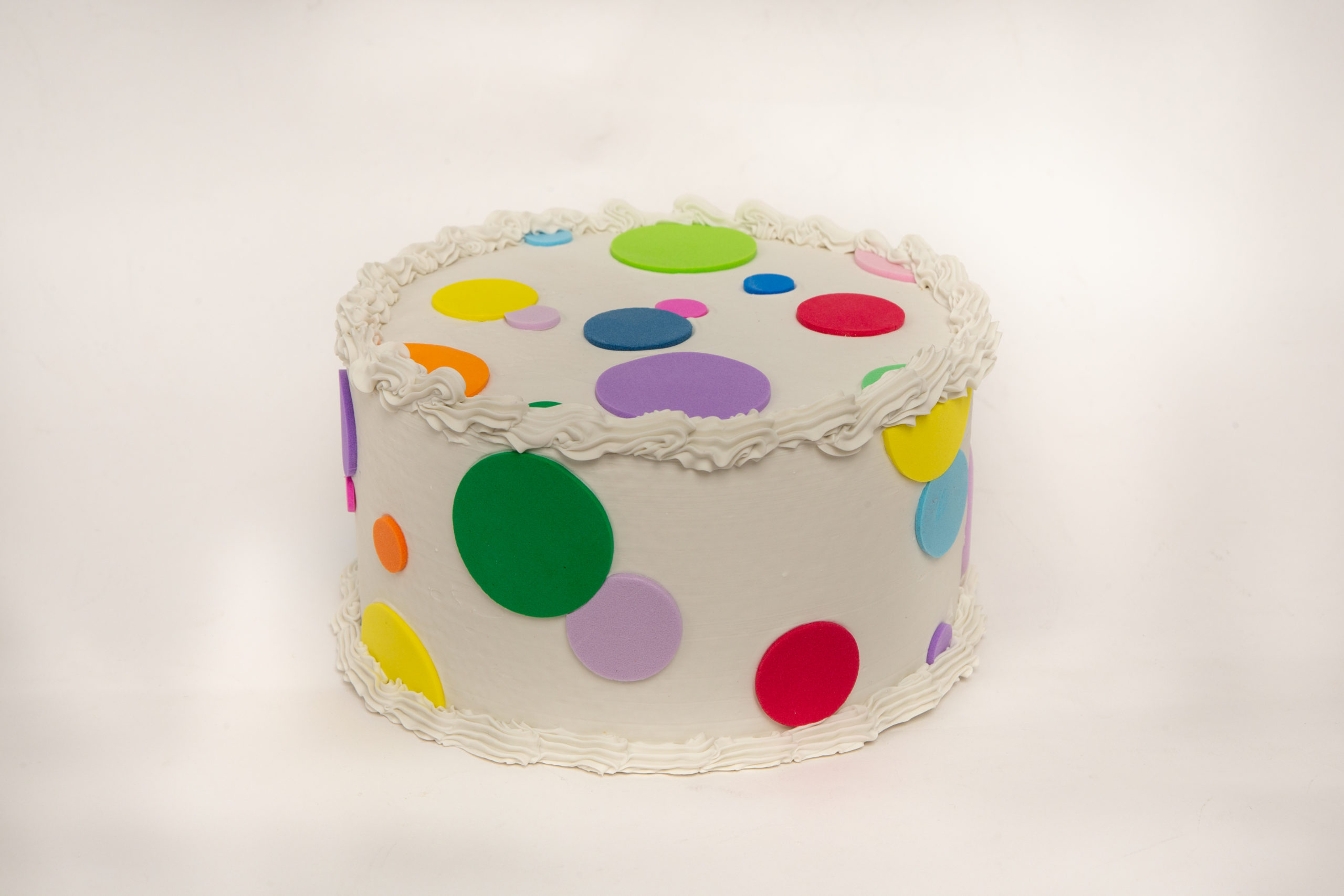 Outstanding Polka Dot Cake Just Dough It Funny Birthday Cards Online Fluifree Goldxyz