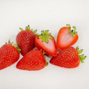 Fake Strawberry Halves