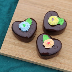 CHOCOLATE HEART PETIT FOURS 268