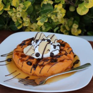 CHOCOLATE WAFFLES 601C 1