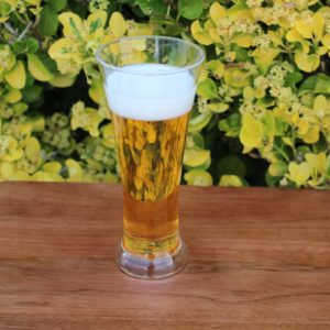 Fake beer glass
