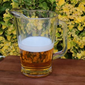 Fake beer pitcher