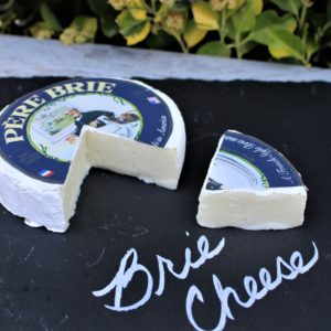 PERE BRIE WITH WEDGE