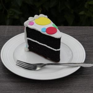 POLKA DOT CAKE SLICE 338