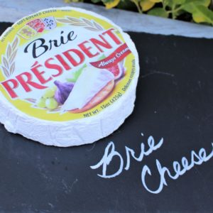 Fake Presidential Brie Cheese Round