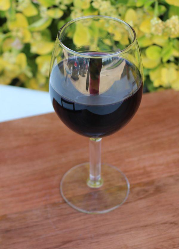 Fake Red Wine Glass