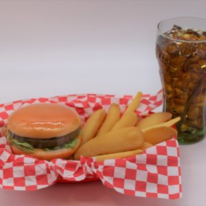 Cheeseburger Basket Special