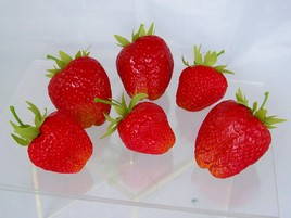 fake strawberries