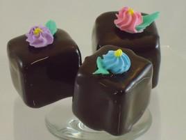 HlxQn SjTTY VcPlSlge Chocolate Petit Four