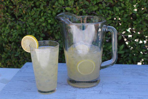 fake lemonade pitcher