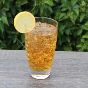 Fake Ice Tea Glass